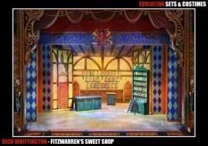 Fitzwarren's Sweet Shop
