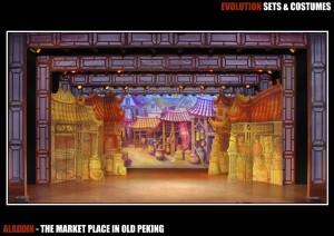 The Marketplace of Old Peking