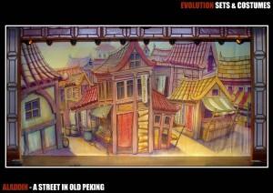 A Street in Old Peking